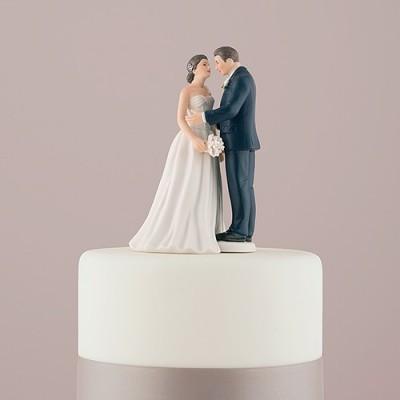 Figurine tort-Figurina Tort Vintage Love