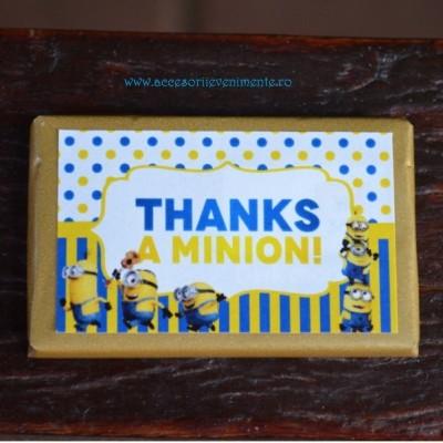 Home-Ciocolata personalizata tematica Minions