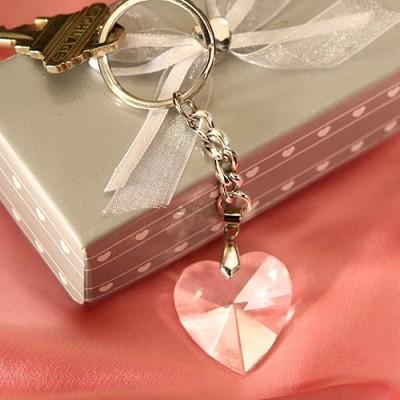 Cadouri din cristal-Breloc Inima Cristal