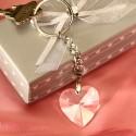 Breloc Inima Cristal
