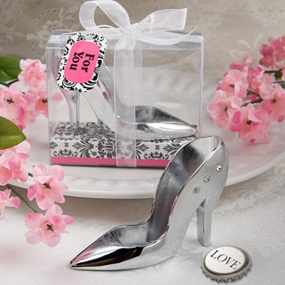Cadouri argint si crom-Deschizator Sticla Pantofior