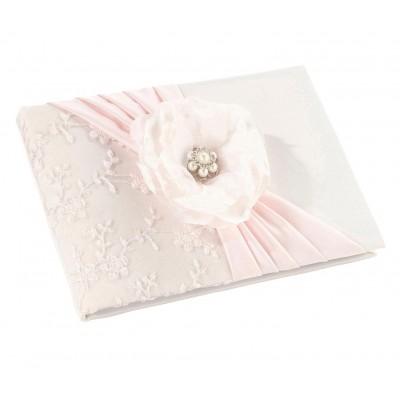 Caiet impresii-Caiet impresii roz pal
