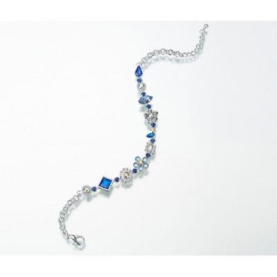Bijuterii mireasa-Bratara Picior 'Something Blue'