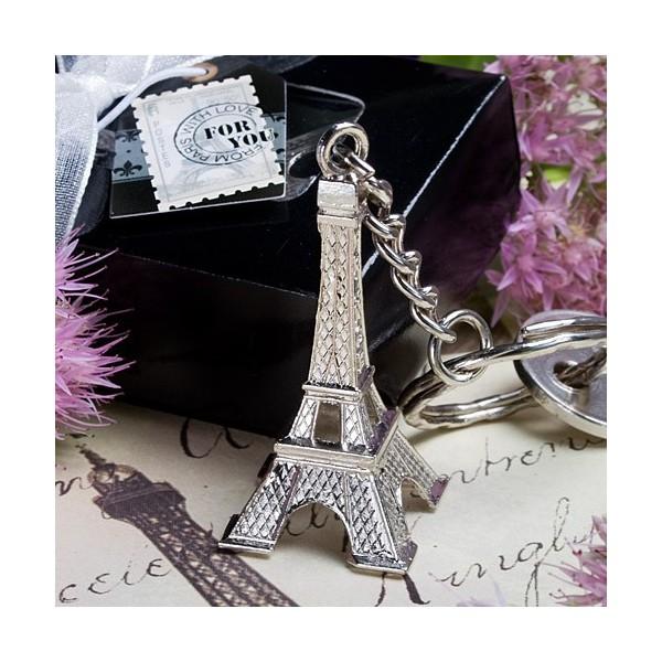 Tematica love in Paris-Breloc Turn Eiffel Argintiu