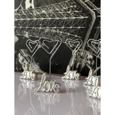 Marturii nunta suport card-Suport Card Love