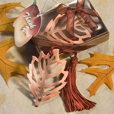 Tematica toamna-Semn de carte frunza
