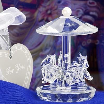 Marturii Fashioncraft A-Z-Carousel Cristal