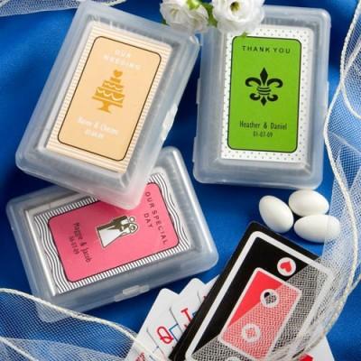 Marturii Fashioncraft A-Z-Marturii personalizate carti de joc