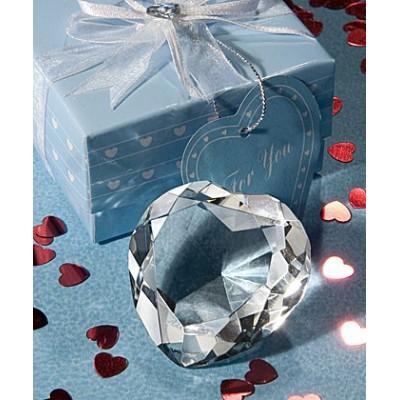 Greutate Birou Inima Cristal