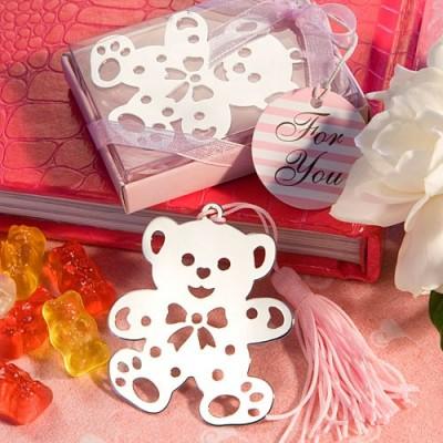 Semne de carte-Semn de carte urs roz