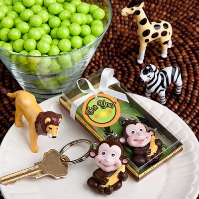 Tematica jungle-Breloc maimutica vesela