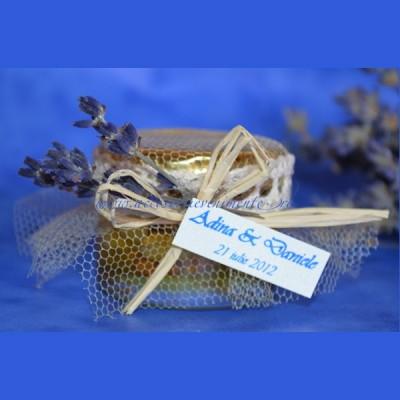 Marturii nunta borcanase miere-Marturii Borcan Miere Provence