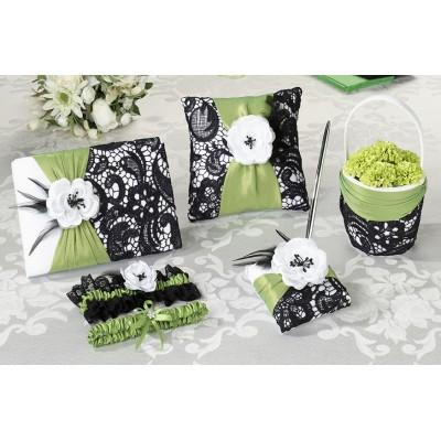 Seturi de nunta-Set Nunta Verde Si Negru