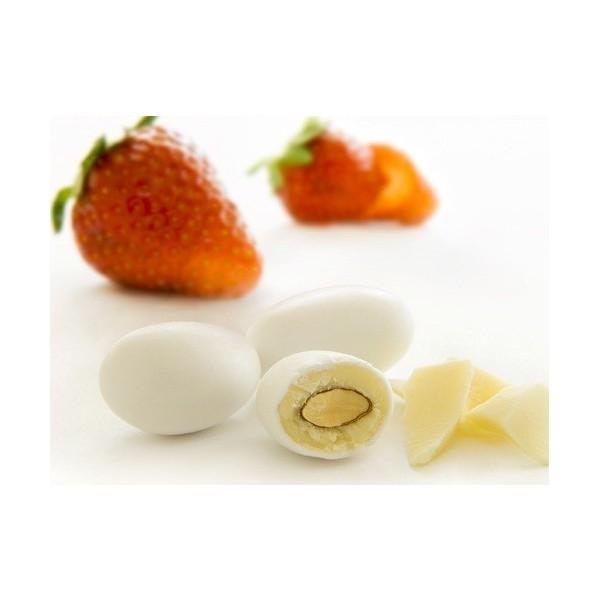 Migdale glazurate-Migdale Glazurate Capsuni 500 grame