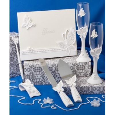 Seturi de nunta-Set Nunta Tematica Fluturi