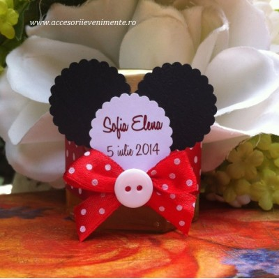 Marturii borcan miere Mickey Mouse