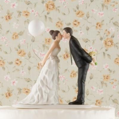 Figurine tort-Figurina tort comica Sarutul