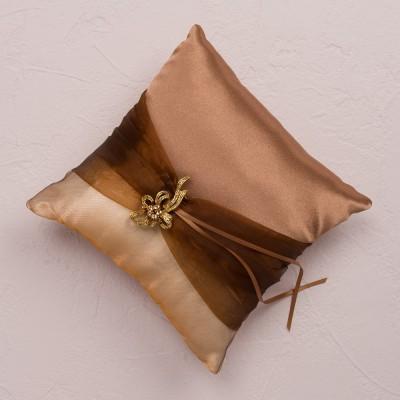 Pernuta verighete bronz cu brosa