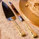 Set tort venetian auriu
