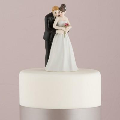 Home-Figurina tort Imbratisarea