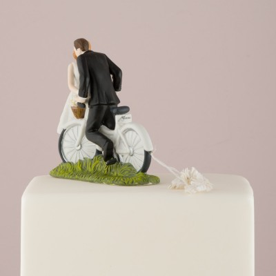 Home-Figurina tort Bicicleta