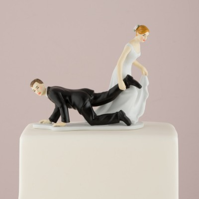 "Figurine tort-Figurina tort comica \\""Tras Picior\\"""
