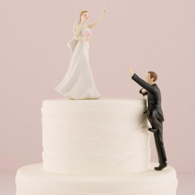 """Figurina tort comica """"Victorie"""" A"""