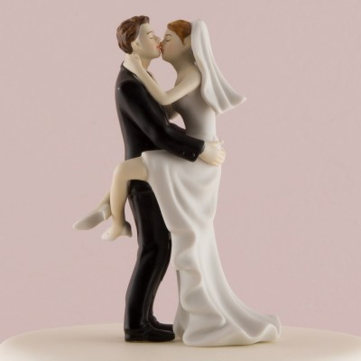 """Figurina tort comica """"Imbratisare"""""""