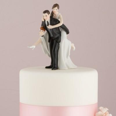 """Figurina tort comica """"In carca"""""""