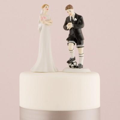 Figurine tort-Figurina tort comica Fotbal