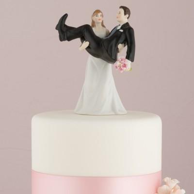 Figurine tort-Figurina tort comica In brate