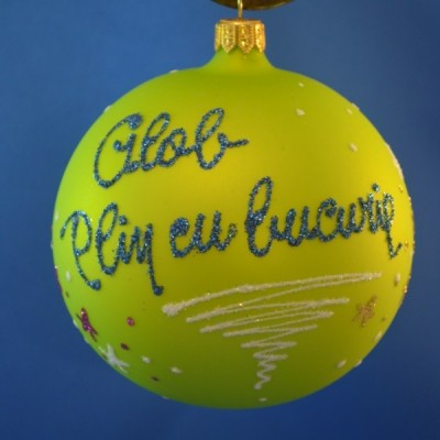 Home-Glob pictat Bucurie/Dragoste/Speranta