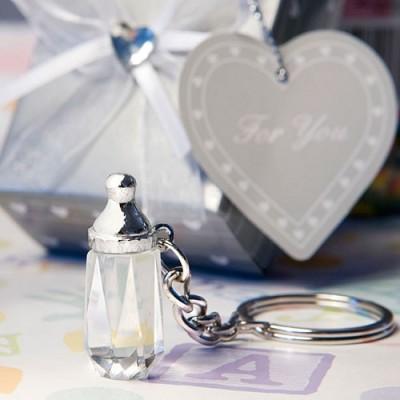Marturii Fashioncraft A-Z-Breloc biberon cristal