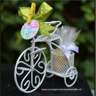 Tematica calatorii-Marturii mini biciclete dulci